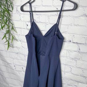 Modcloth Dresses - Fervour ModCloth fit and flare navy dress XS